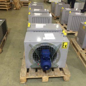Взрывозащищенные агрегаты воздушного отопления АВО
